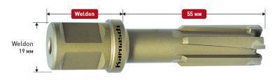 Длина рабочей части 55 мм