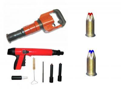 Пистолеты, патроны монтажные