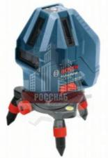 Нивелир лазерный 15м BOSCH GLL 5-50 X (15 м, точн. 0,2 мм, 3 плоскости)