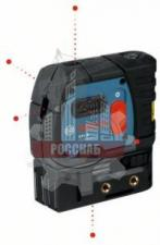 Нивелир лазерный 30м BOSCH GPL 5 (30 м, точн. 0,3 мм, 5 точек)