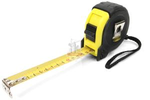 Рулетка  7,5м х 25мм (обрезин)