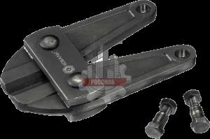 Лезвия сменные КОБАЛЬТ для болтореза  300 мм, CR-MO, до 4 мм