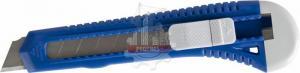 Нож технический 18 мм, пластиковый корпус  КОБАЛЬТ