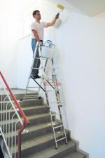 Лестница 3-х секционная  6 ступеней с доп. функцией CORDA