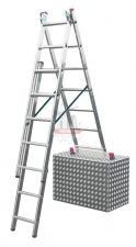 Лестница 3-х секционная  7 ступеней с доп. функцией CORDA