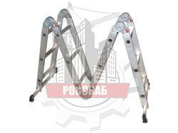 Лестница-трансформер 4-х секционная 3-х ступенчатая (4х3)