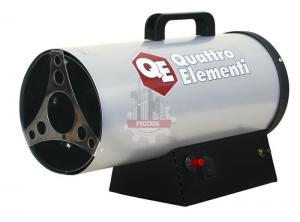 Нагреватель воздуха газовый QUATTRO ELEMENTI QE-12G (12кВт, 300 м.куб/ч, 0,75 л/ч, 5,3 кг)