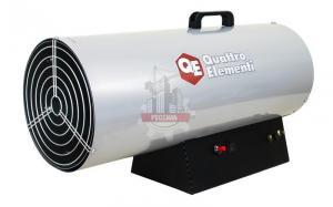 Нагреватель воздуха газовый QUATTRO ELEMENTI QE-55G (55кВт, 1100 м.куб/ч, 4,2 л/ч, 11,7кг)