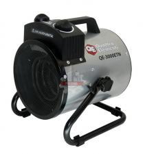 Нагреватель воздуха электрический QUATTRO ELEMENTI QE- 3000 ETN (1,5 / 3кВт, 220В, 390 м3/час) — цилиндр