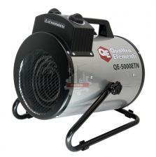 Нагреватель воздуха электрический QUATTRO ELEMENTI QE- 5000 ETN (2.5 / 5кВт, 220В, 500 м3/час) — цилиндр