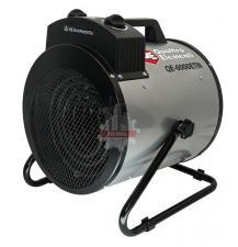 Нагреватель воздуха электрический QUATTRO ELEMENTI QE- 6000 ETN (3 / 6кВт, 380В-3ф, 880 м3/час) — цилиндр
