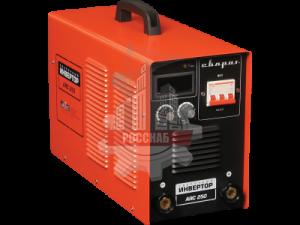 Сварочный аппарат инверторный ARC 250 (Z244) 250А, до 5мм, 6,6кг, 160–270 В СВАРОГ Real
