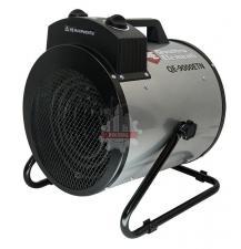 Нагреватель воздуха электрический QUATTRO ELEMENTI QE- 9000 ETN (4.5 / 9кВт, 380В-3ф, 880 м3/час) — цилиндр