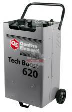 Пуско-зарядное устройство 620 ( 12 / 24 Вольт, заряд до 90А, пуск до 590 А, таймер, 28 кг) QUATTRO ELEMENTI Tech Boost