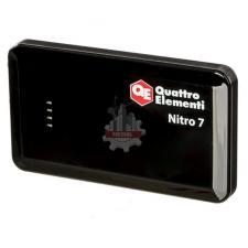 Пусковое устройство  7 (12В, 7500 мАч, 400А, USB, LCD - фонарь) QUATTRO ELEMENTI Nitro