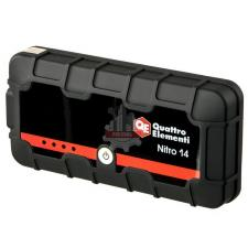 Пусковое устройство 14 (12В, 14000 мАч, 450 А, USB, LCD - фонарь)  QUATTRO ELEMENTI Nitro
