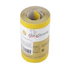 Бумага шлифовальная (наждачная) AS3310 желтая 115мм Р100 рулон 5м