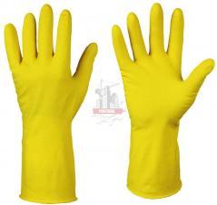 Перчатки резин. латексные Лотос.