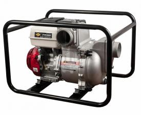 Мотопомпа бензиновая грязевая DDE PTR100H (вых 100мм,HONDA.GX390,26м,1510л/мин, 6,3 л,73кг)