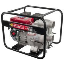 Мотопомпа бензиновая грязевая DDE PTR80 (вых 80 мм, 7,0 л.c,26м,1080л/мин, 3,6л,43кг)