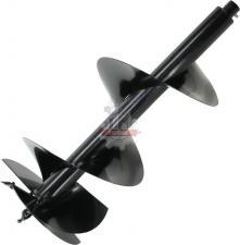 Шнек однозаходный для грунта DDE мотобура (однозаходный, ф = 300 мм, L = 800 мм, посадка на вал 20 мм)