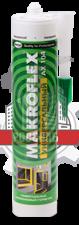 Герметик силиконовый AX104 универсальный белый (85мл) MAKROFLEX