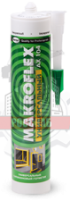 Герметик силиконовый AX104 универсальный бесцветный (85мл) MAKROFLEX