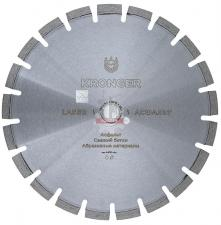 Диск алмазный по асфальту 350x25,4 мм Asphalt Kronger