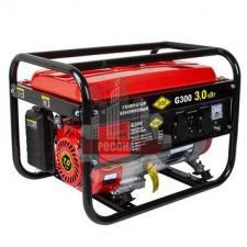 Генератор бензиновый 2,8/3,0 кВт DDE G300 (1ф 2,8/3,0 кВт бак 15 л 47 кг дв-ль 7 л.с.)