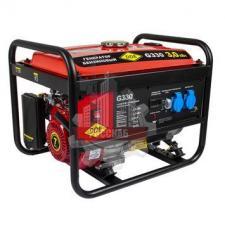 Генератор бензиновый 3,0/3,3 кВт DDE G330 (1ф  бак 25 л 48 кг дв-ль 7 л.с.)
