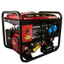 Генератор бензиновый 5,0/5,5 кВт DDE G550E (1ф 5,0/5,5 кВт бак 25 л 80 кг дв-ль 13 л.с. элстарт)