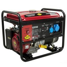 Генератор бензиновый 5,0/5,5кВт  DDE G550 однофазн.ном/макс.(1ф 5,0/5,5 кВт бак 25 л 80 кг дв-ль 13 л.с.)