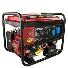 Генератор бензиновый 6,0/6,5кВт DDE G650EA (1ф 6,0/6,5 кВт бак 25 л 92 кг дв-ль 14 л.с. элстарт ав