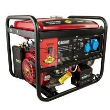 Генератор бензиновый 6,0/6,5кВт DDE G650Е (1ф 6,0/6,5 кВт бак 25 л 88 кг дв-ль 14 л.с. элстарт)
