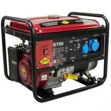 Генератор бензиновый 6,0/7,5кВт  DDE G750E (1ф 7,0/7,5 кВт бак 25 л 92 кг дв-ль 15 л.с элстарт)