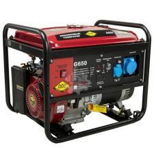 Генератор бензиновый 6.0/6.5кВт DDE G650  (1ф 6,0/6,5 кВт бак 25 л 81 кг дв-ль 14 л.с.)