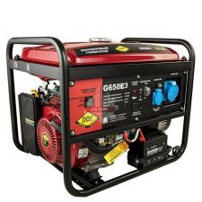 Генератор бензиновый 6/6.5кВт DDE G650E3 (1+3ф 6,0/6,5 кВт бак 25 л 89 кг дв-ль 14 л.с. элстарт)