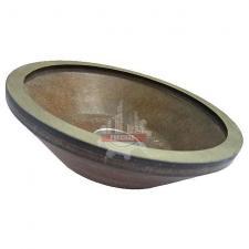 Чашка алмазная для заточки/доводки 12А2-45гр. 150х10х3х32 100/80