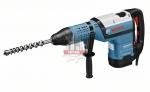Перфоратор BOSCH GBH 12-52 D (Мощность - 1700 Вт, энергия удара - 19 Дж, уровень вибрации (сверл./долбл.) - 20/15 м/с², патрон - SDS-max, макс. диаметр отверстия в бетоне (сверление сверлами/коронками) - 52/150 мм, вес - 11,5 кг