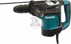 Перфоратор MAKITA HR4511C (1350Вт,SDS-Мax,2.7-13Дж,2 реж,130-280об/мин,AVT-виброгащение+демпфер,кейс)