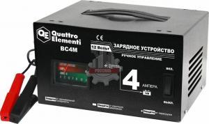 Зарядное устройство BC  4M (12В, 4А) QUATTRO ELEMENTI