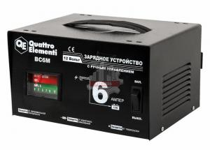 Зарядное устройство QUATTRO ELEMENTI BC 6M (12В, 6А)
