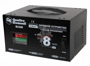 Зарядное устройство BC  8M (12В, 8А) QUATTRO ELEMENTI