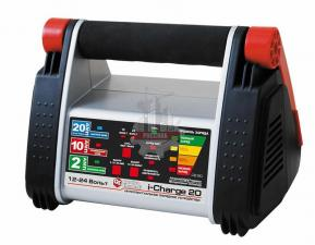 Зарядное устройство i-Charge 20 (12В / 24В, 20/10/2 А) полный автомат QUATTRO ELEMENTI