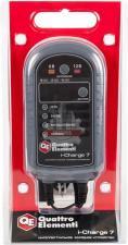 Зарядное устройство i-Charge  7 (6 / 12В, 7 А, дисплей) полный автомат QUATTRO ELEMENTI
