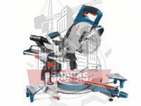 Пила торцовочная BOSCH GCM 8 SJL (1600Вт,216х30мм,сечение70х312мм,5500об/мин,лазер)