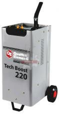 Пуско-зарядное устройство QUATTRO ELEMENTI Tech Boost 220 ( 12 / 24 Вольт, заряд до 30А, пуск до 200 А, 15кг)