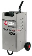 Пуско-зарядное устройство 420 ( 12 / 24 Вольт, заряд до 75А, пуск до 390 А, 23кг) QUATTRO ELEMENTI Tech Boost