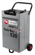 Пуско-зарядное устройство QUATTRO ELEMENTI Tech Boost 520 ( 12 / 24 Вольт, заряд до 75А, пуск до 450 А, таймер, 26 кг)