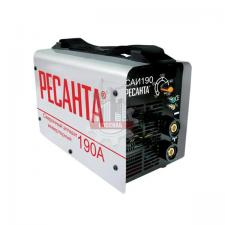 Сварочный аппарат инверторный САИ 190 (190 А,5,0мм,ПВ 70%)РЕСАНТА